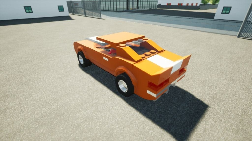 69 Camaro (OLD) Mod for Brick Rigs