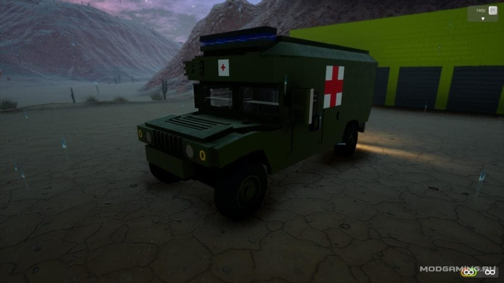 AM-General M977 Mod for Brick Rigs