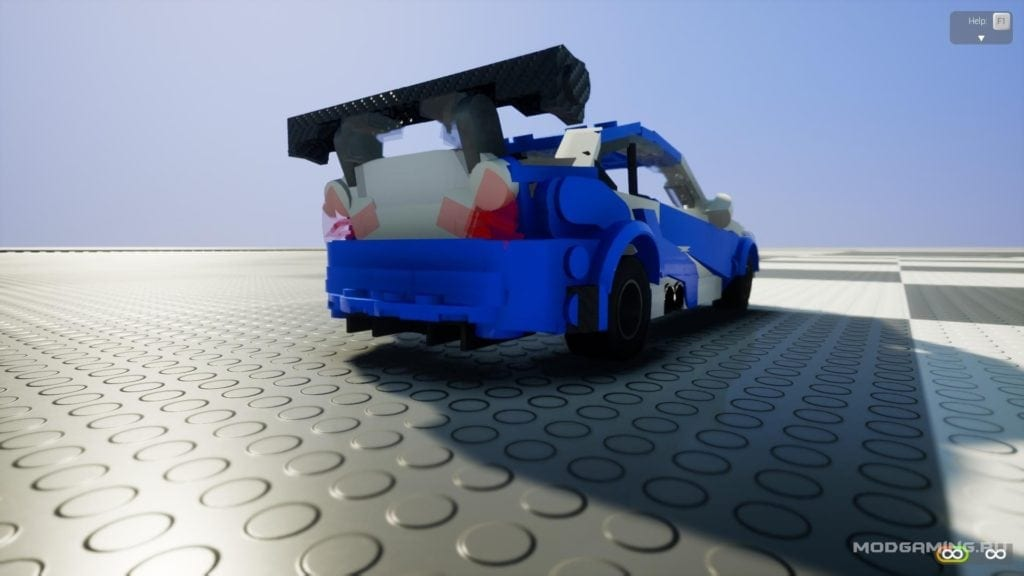 BMW M3 from Most Wanted Mod for Brick Rigs