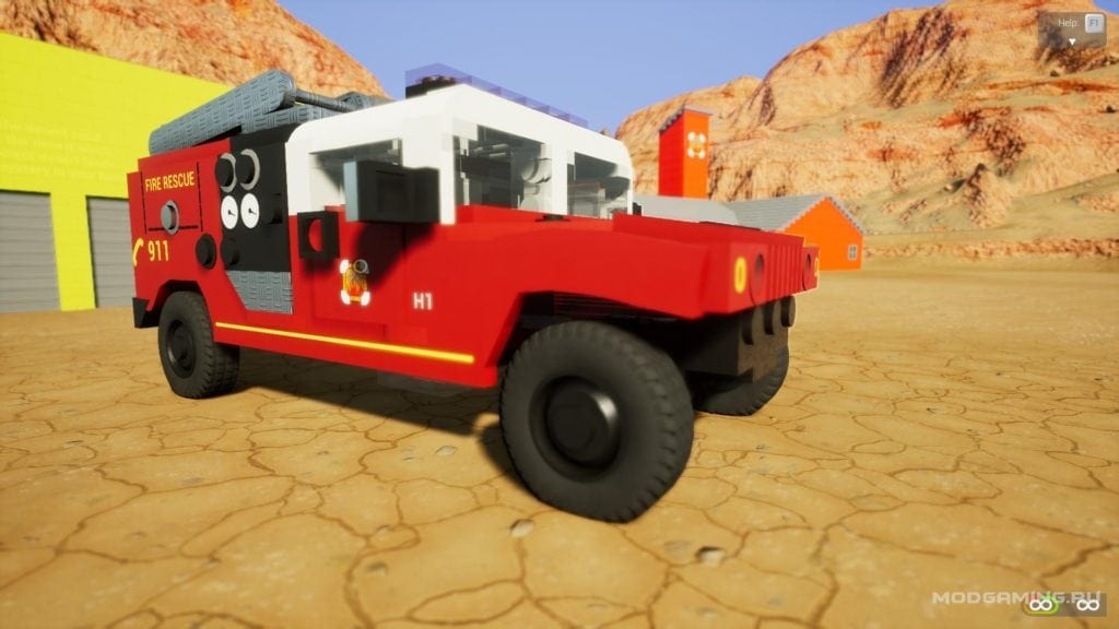 Hummer H1 Mod for Brick Rigs