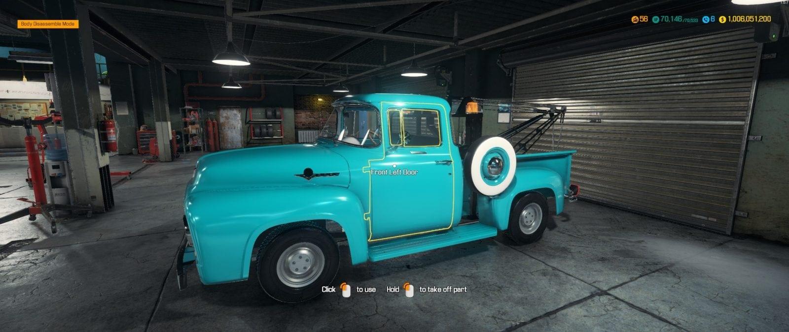 1956 Ford F100 Mod for Car Mechanic Simulator 2018