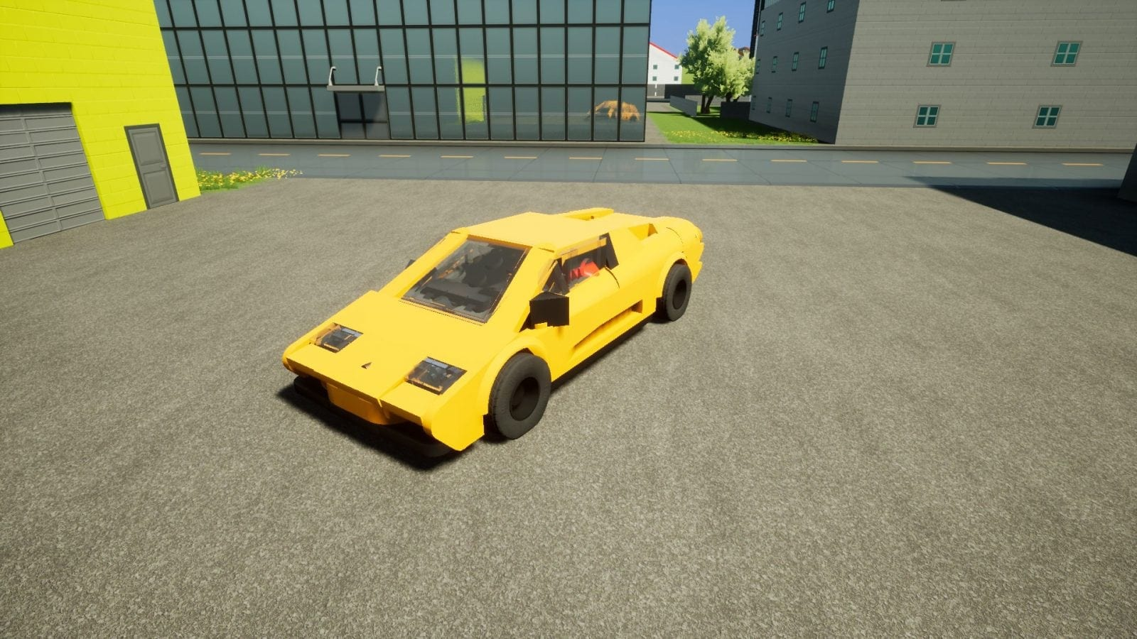 Lamborghini Diablo VT Mod for Brick Rigs