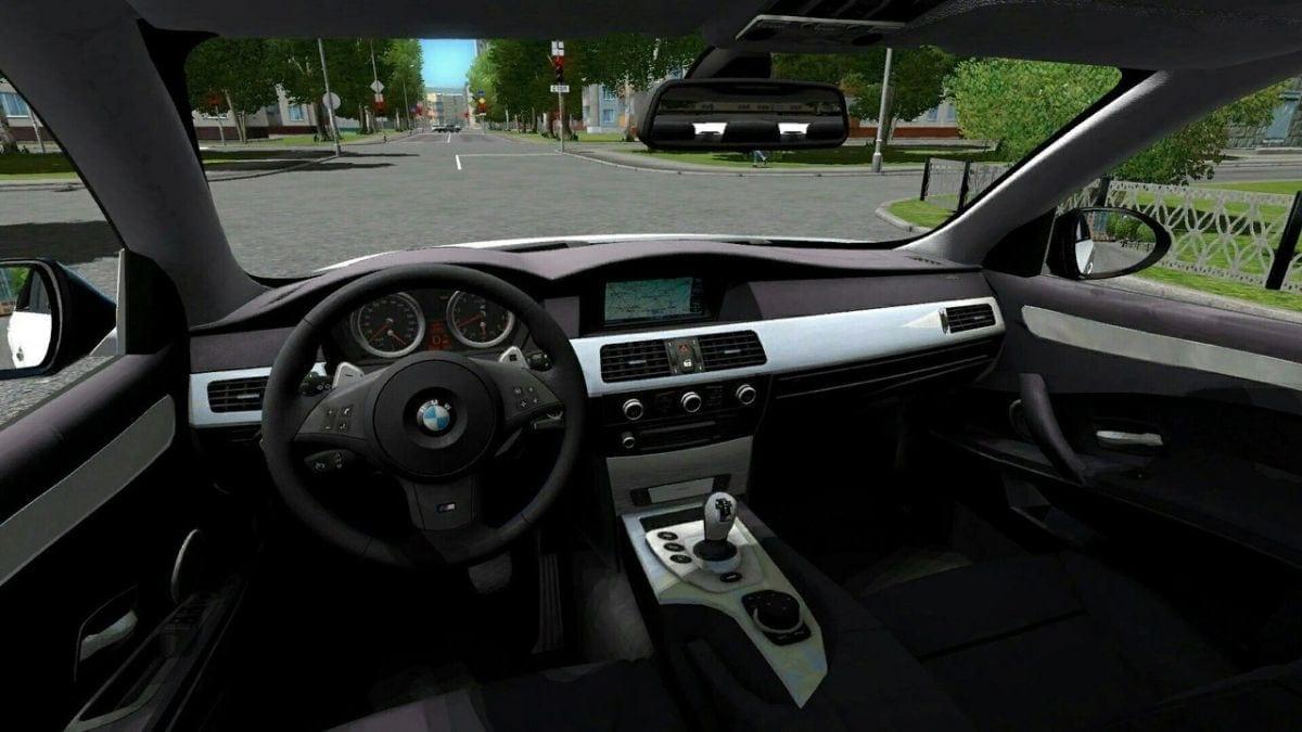 BMW M5 E60 v2 0 Mod for City Car Driving v 1 5 1 - 1 5 5