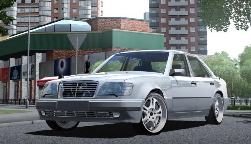 Mercedes-Benz E500 W124 Mod for City Car Driving v 1 5 1 - 1 5 4