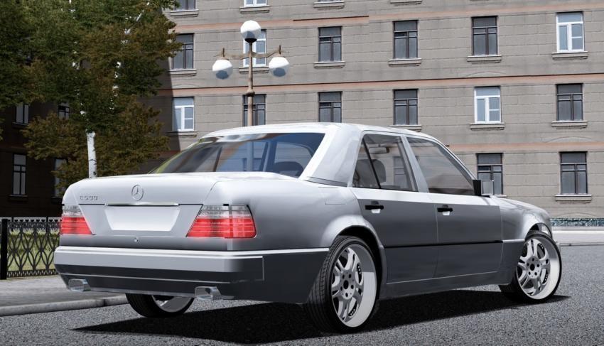 Mercedes-Benz E500 W124 Mod for City Car Driving v.1.5.1 - 1.5.4