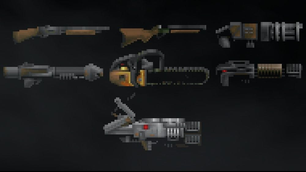 DOOM Weapon Pack Mod for Ravenfield