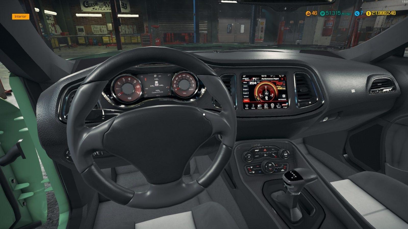 Dodge Challenger Hellcat Mod for Car Mechanic Simulator 2018