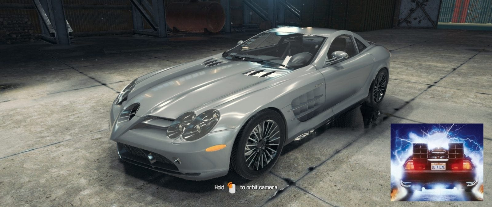 Mercedes-Benz McLaren SLR Mod for Car Mechanic Simulator 2018