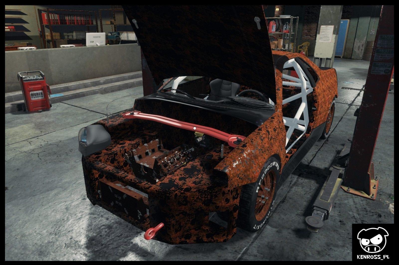 nissan skyline r34 rally car mod for car mechanic. Black Bedroom Furniture Sets. Home Design Ideas