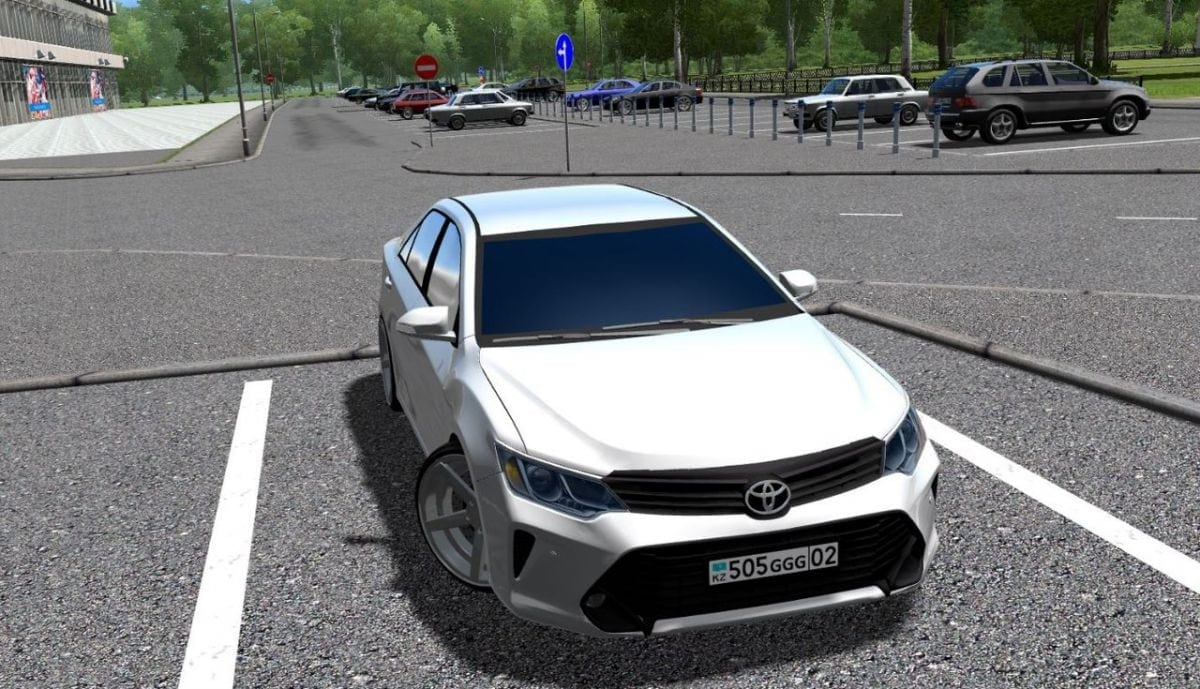 This Mod Adds Toyota Camry V55 V2 0 To City Car Driving Enjoy