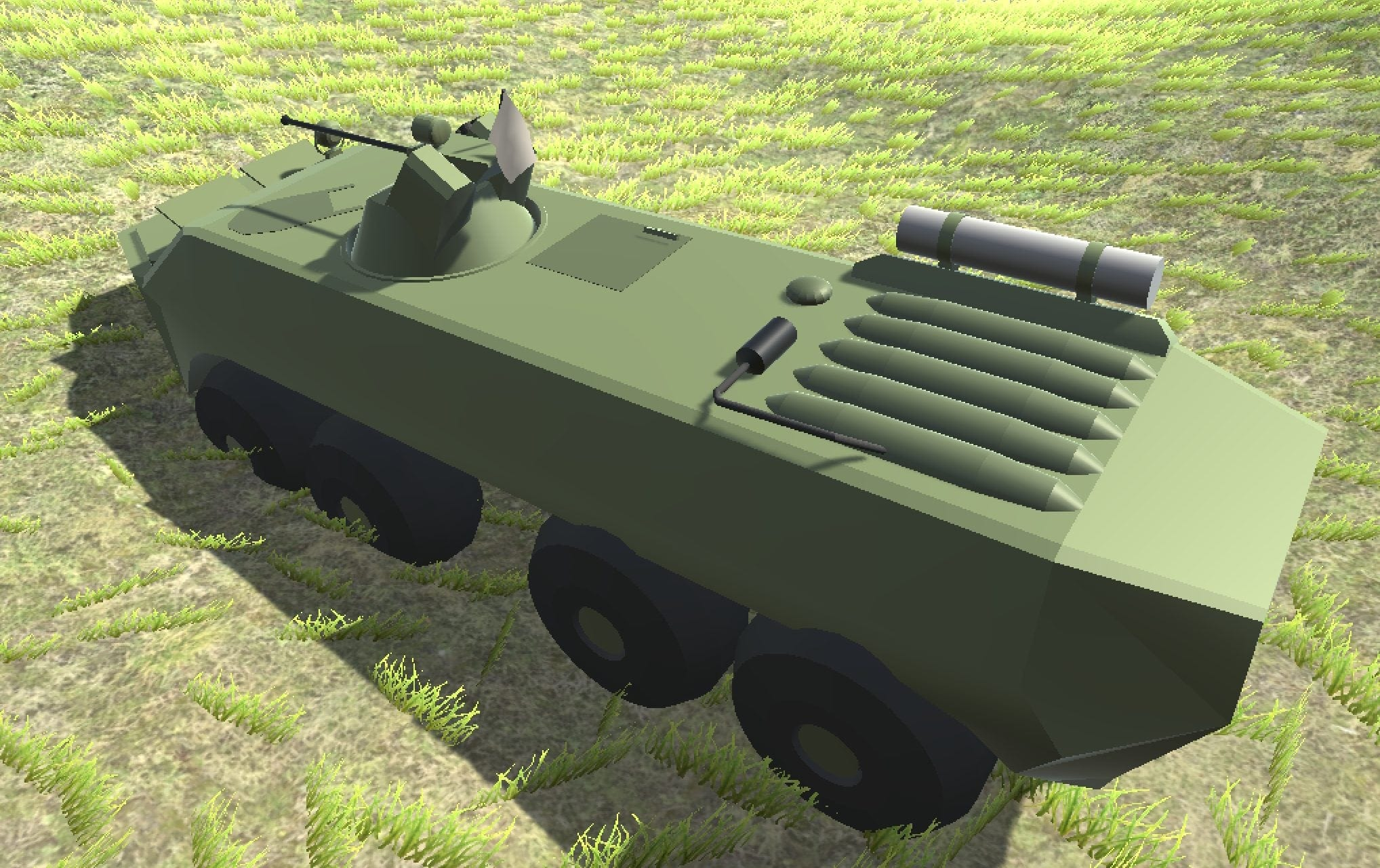 Vel's Vehicle Overhaul (WIP) Mod for Ravenfield
