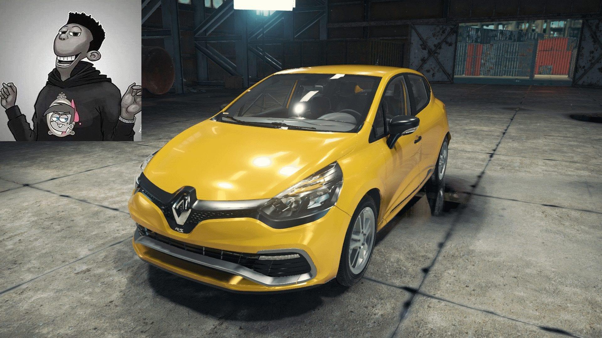 Renault Clio RS Mod for Car Mechanic Simulator 2018