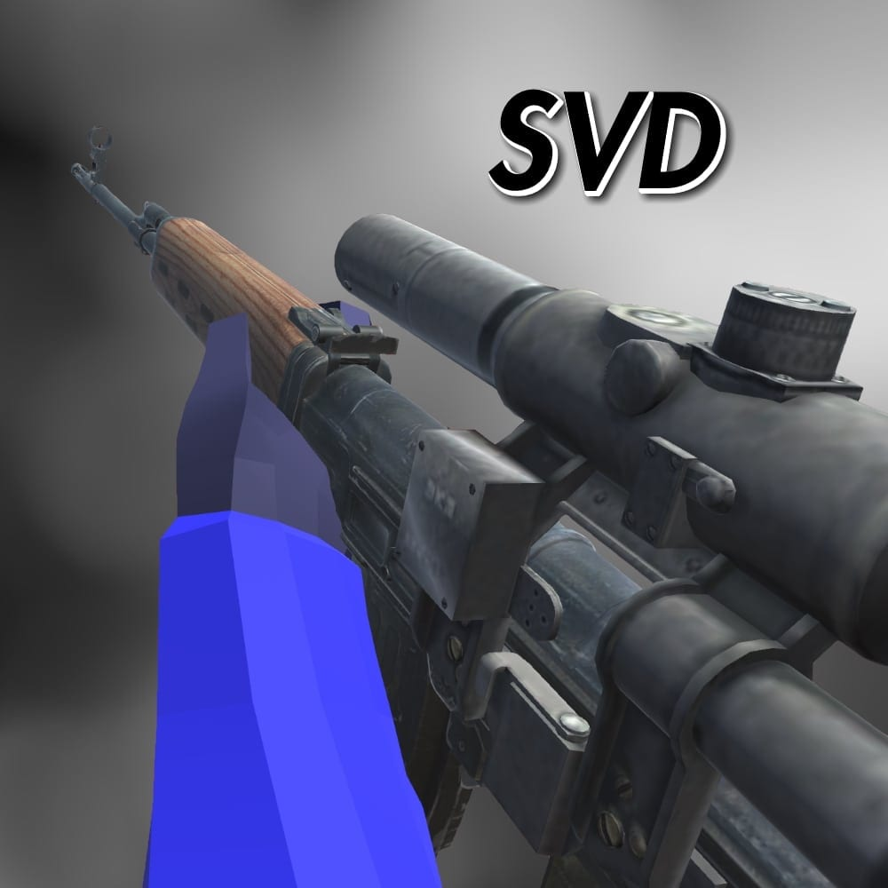 SVD Mod for Ravenfield