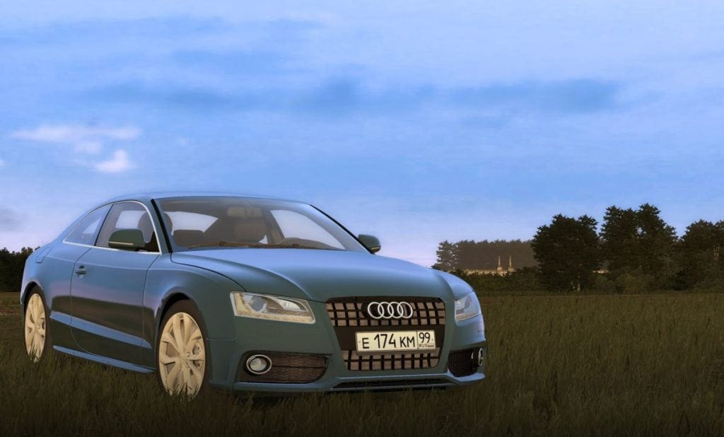 Audi A5 Mod for City Car Driving v.1.5.5