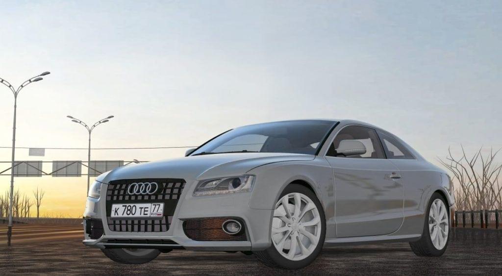 Audi A5 Mod for City Car Driving v.1.5.5