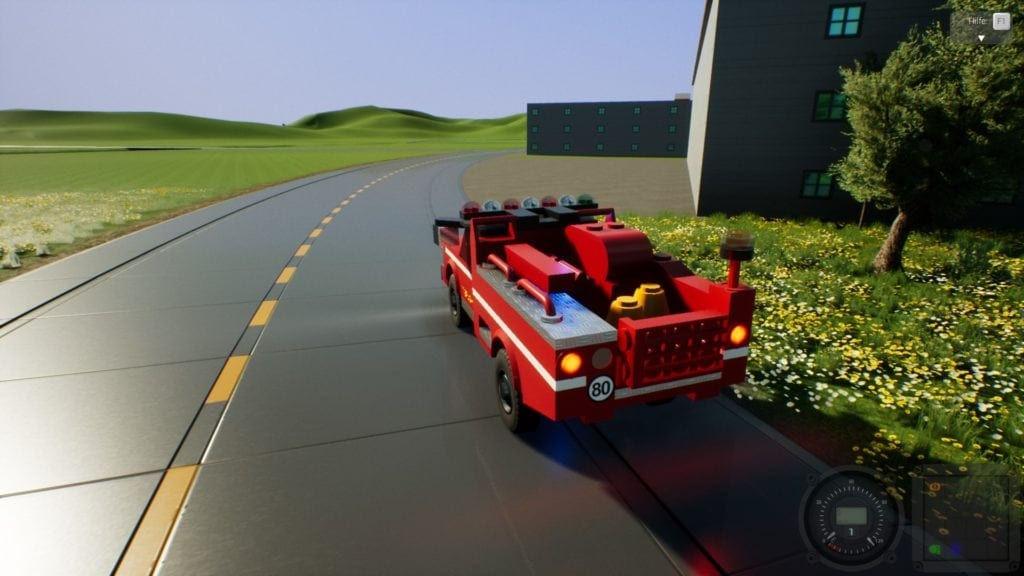 Brush Truck 17 Mod for Brick Rigs