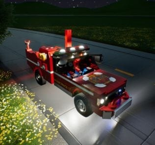 Brush Truck 17 Mod for Brick Rigs