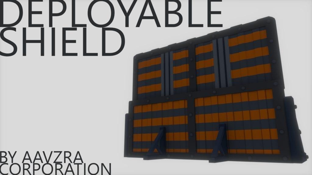 Deployable Shield Mod for Ravenfield