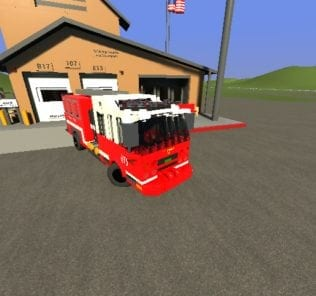 Fire Truck Engine 13 Mod for Brick Rigs