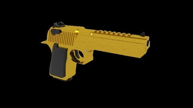 Golden Desert Eagle Mod for Ravenfield