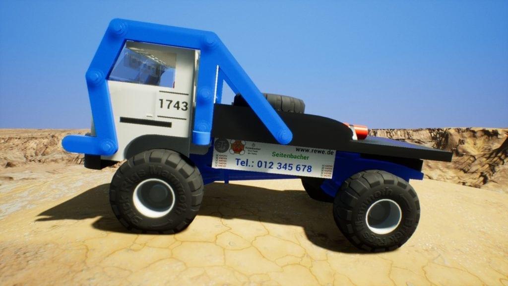 IFA W50 Rallye Mod for Brick Rigs