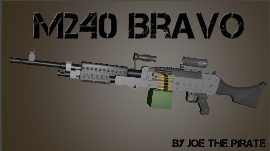 M240B Mod for Ravenfield