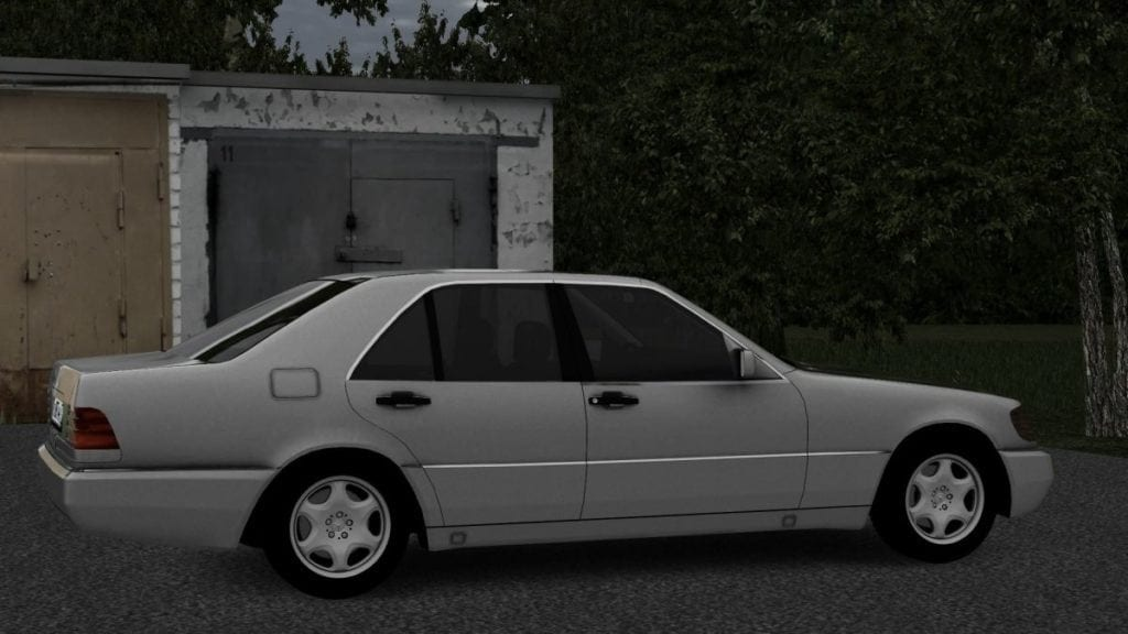 Mercedes-Benz s600 w140 Mod for City Car Driving v.1.5.2 - 1.5.5