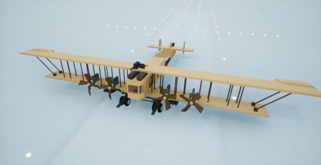 TDAC Sukorsky S-22 Ilya Muromets Mod for Brick Rigs