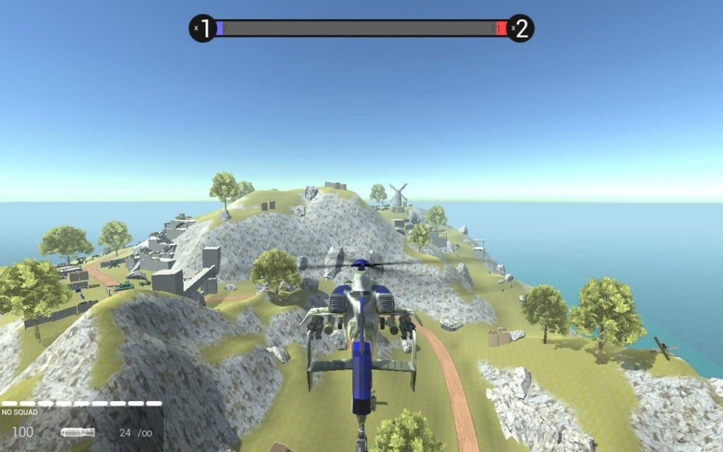 Warsong Attack Helicopter Mod for Ravenfield