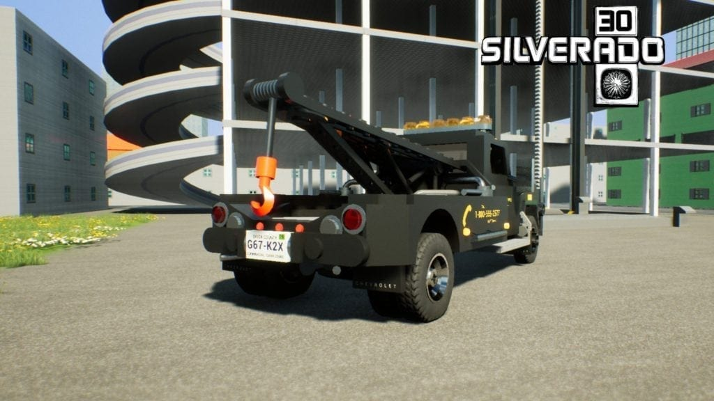 1973 Chevrolet K30 Tow Truck Mod for Brick Rigs