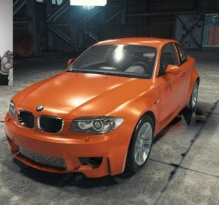 BMW 1M Coupe Mod for Car Mechanic Simulator 2018
