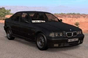 BMW E36 Mod for BeamNG Drive