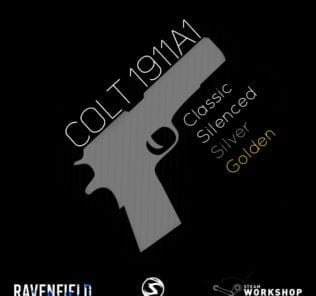 Colt 1911A1 Pack by Sekicher Mod for Ravenfield