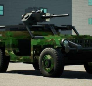 GTMV BRAF Buggy Lite Mod for Brick Rigs