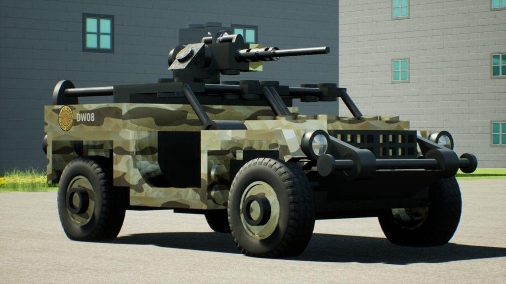 GTMV DW Buggy Lite Mod for Brick Rigs
