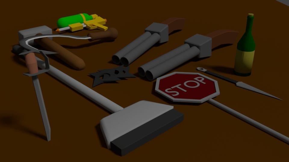 Random Weapons Pack! Mod for Ravenfield