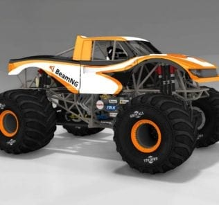 Revamped CRD Monster Truck 1.14 Mod for BeamNG Drive