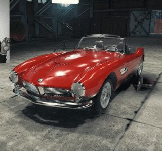 BMW 507 Mod for Car Mechanic Simulator 2018