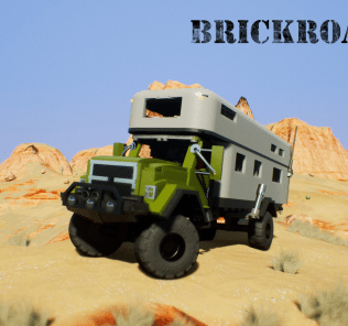BrickRoamer HD-OR 6500 RV Mod for Brick Rigs