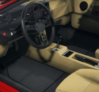 Lamborghini Jalpa Mod for Car Mechanic Simulator 2018