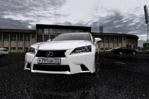 Lexus GS350 IV 2014 Mod for City Car Driving v.1.5.1 - 1.5.6