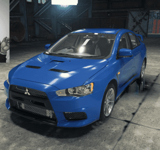 Mitsubishi Lancer Evo X Mod for Car Mechanic Simulator 2018