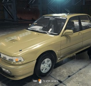 1992 Mitsubishi Galant Mod for Car Mechanic Simulator 2018