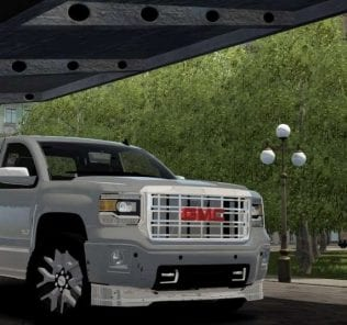 2014 GMC Sierra Mod for City Car Driving v.1.5.6