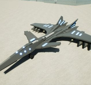 Astral Raven UVX-16 Mod for Brick Rigs