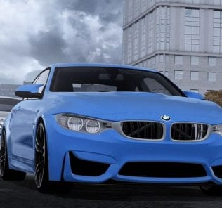BMW M4 F82 V2.0 Mod for City Car Driving v.1.5.1 - 1.5.5