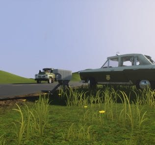 GAZ-21 Volkspolizei Mod for Brick Rigs