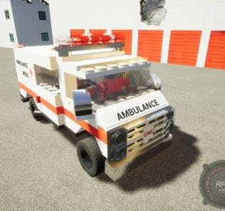 GMC VANDURA AMBULANCE Mod for Brick Rigs