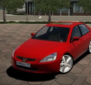 Honda Accord V6 2004 Mod for City Car Driving v.1.5.6