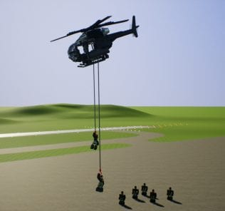 MH-6 Little Bird Mod for Brick Rigs